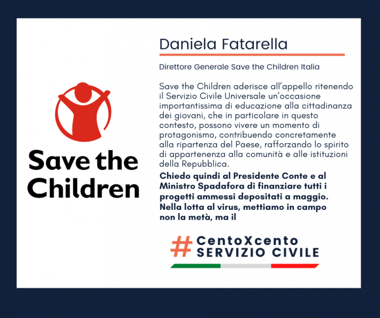 Adesione di Save the Children